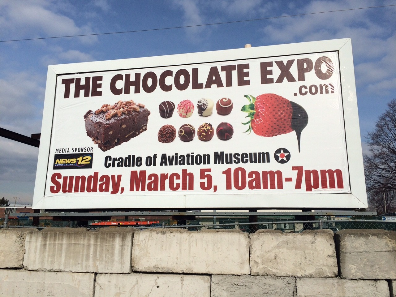 The Chocolate Expo 30 Sheet Poster Advertising