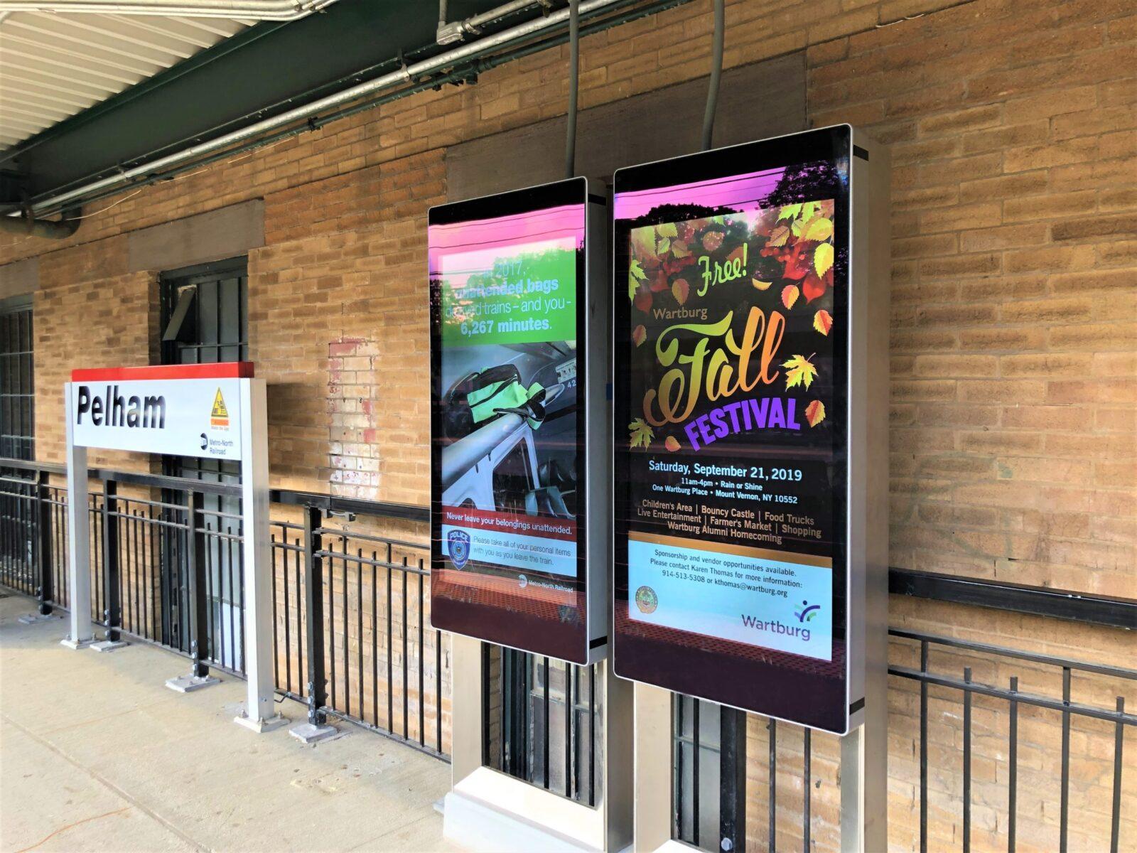 Wartburg Rail Digital Platform Advertising