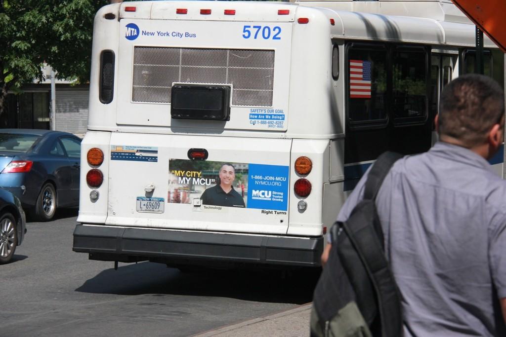 Bus Tail Advertising