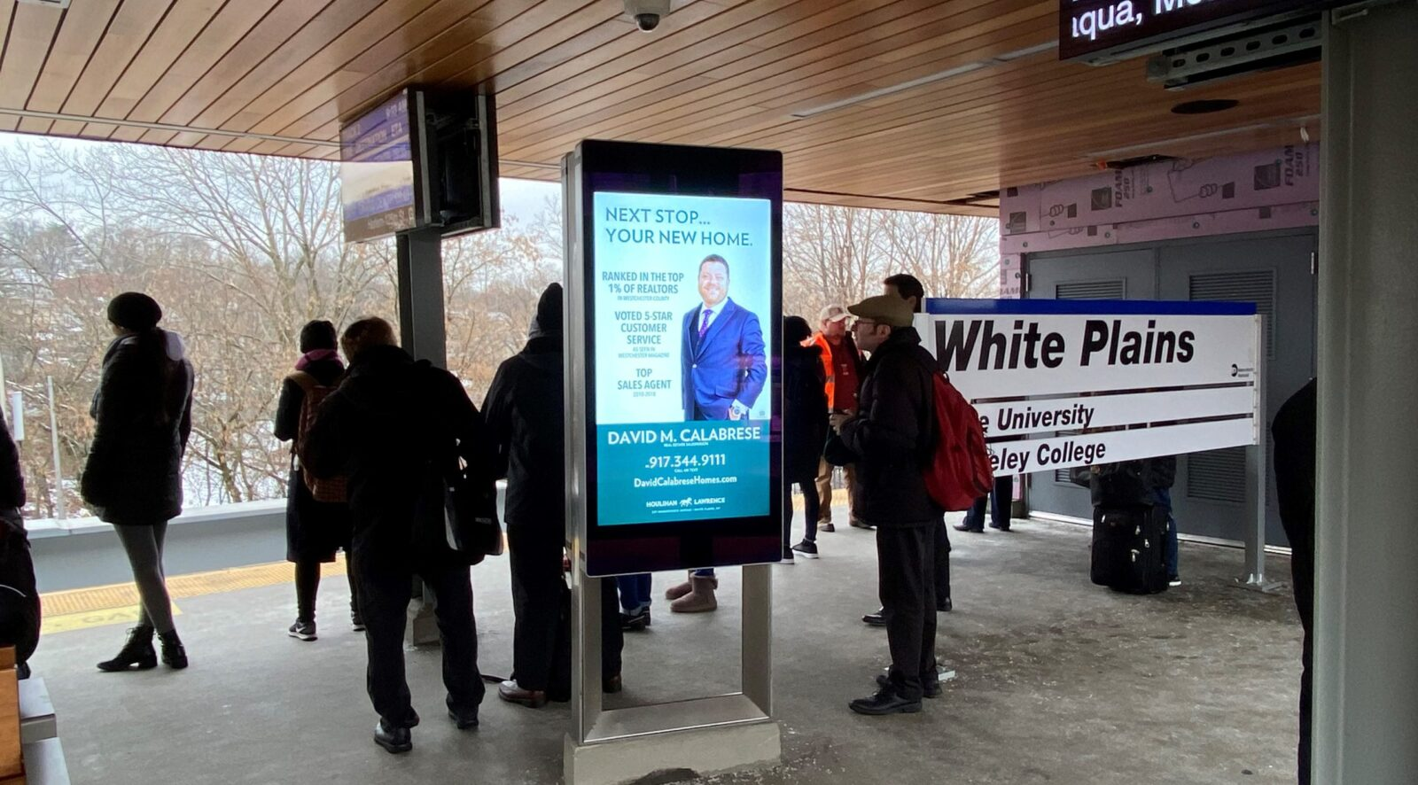 David Calabrese Rail Platform Digital Advertising