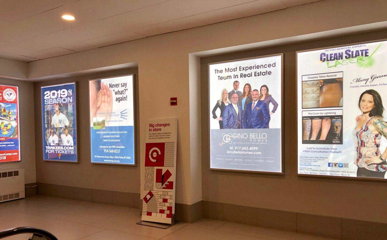 Gino Bello City Center Mall Advertising