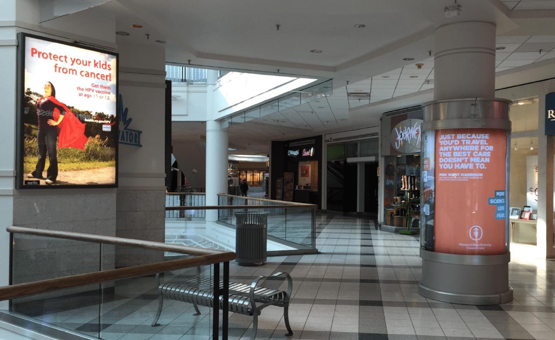 Galleria Mall Light Box Ad