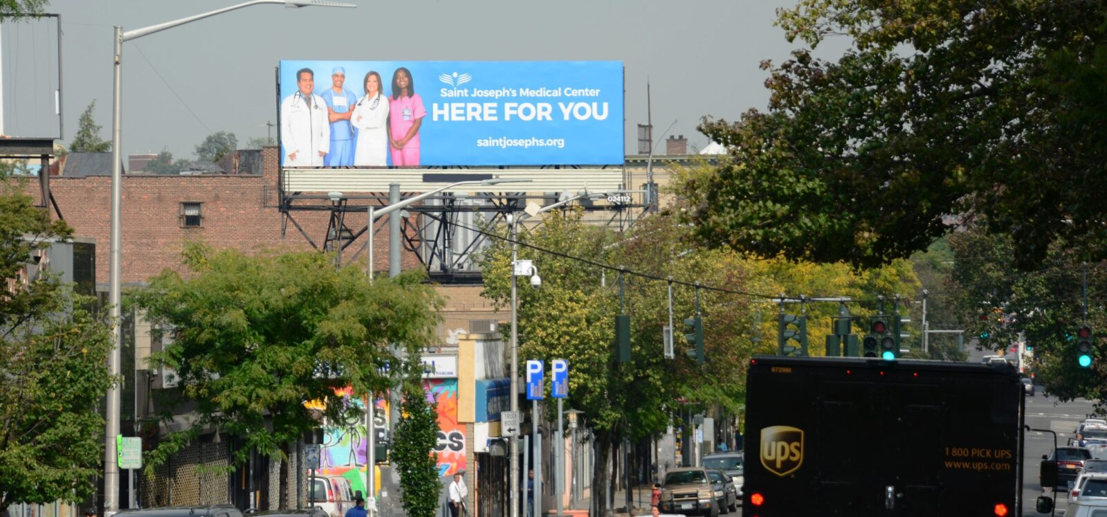 St Joseph Hospital Billboard Advertising