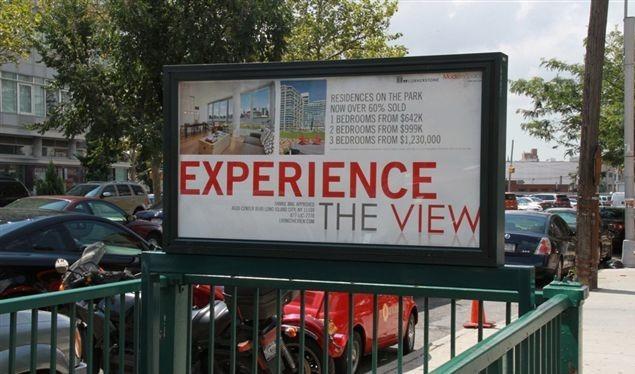 Modern Space Subway Urban Panel Advertising