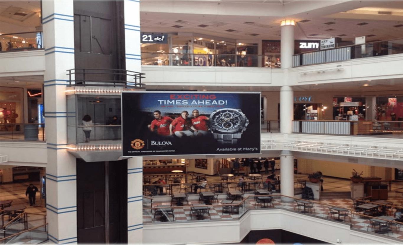 Galleria Mall Banner Advertising