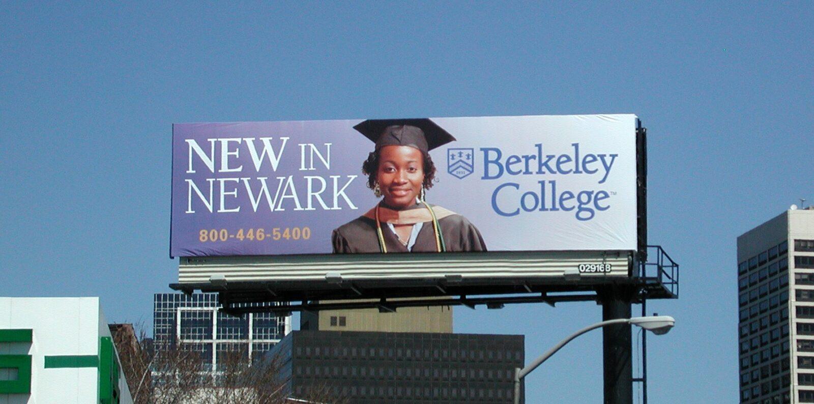 Berkeley College Billboard Advertising