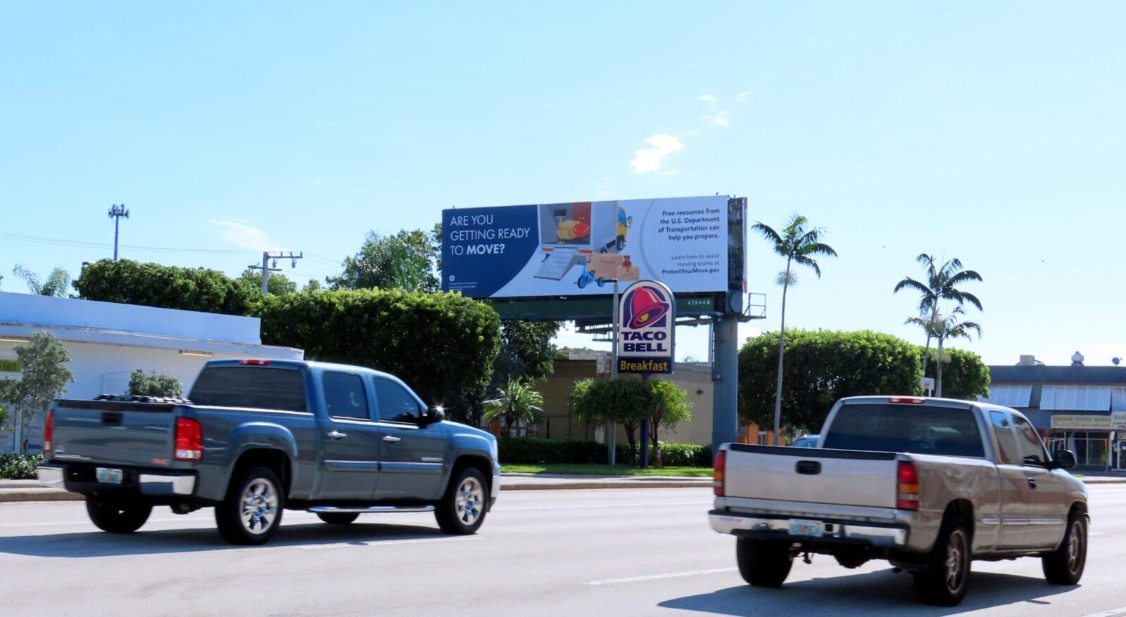 Pompano Beach Florida Billboard Advertising FMCSA