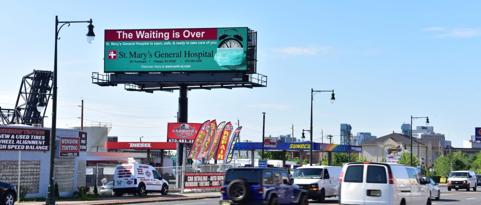 NJ Digital Billboard St Mary's General Hospital