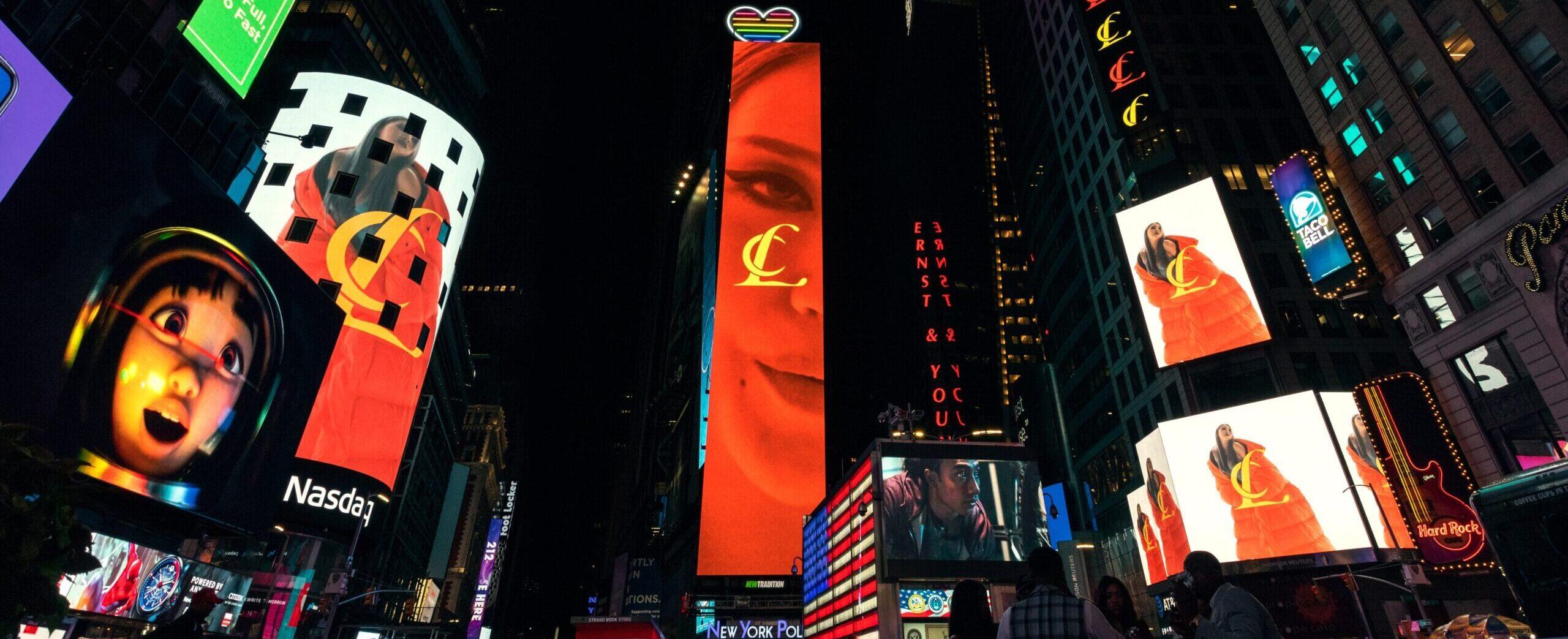 CL TImes Square Digital Billboard