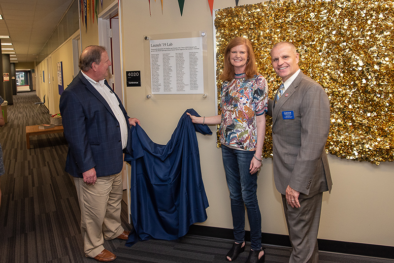 Class of 2019 names Launch '19 Lab with Senior Gift