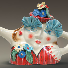 Fancy Lady Teapot