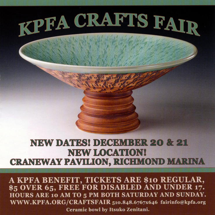 2014 KPFA Crafts Fair