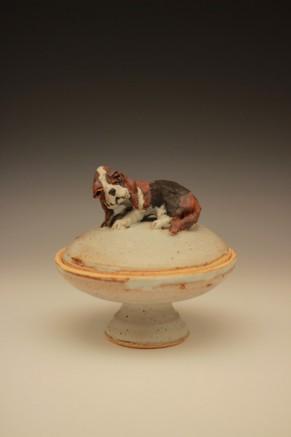 Dog Covered Jar