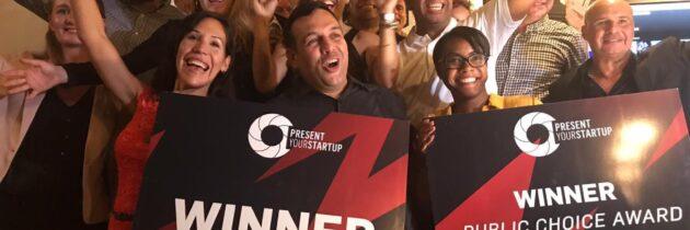 Venezolanos en Bonaire ganan premio Present Your Startup