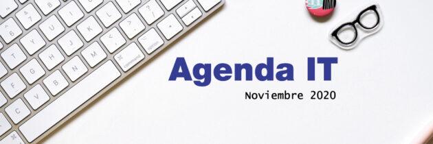 Agenda IT: Eventos de tecnología en noviembre 2020