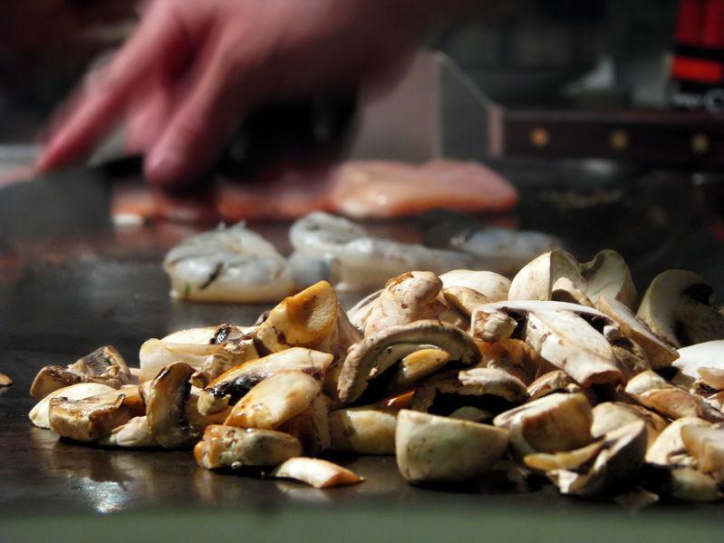 Hibachi Mushrooms