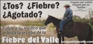 Donny Youngblood patrocina en anuncios en contra la Fiebre del Valle