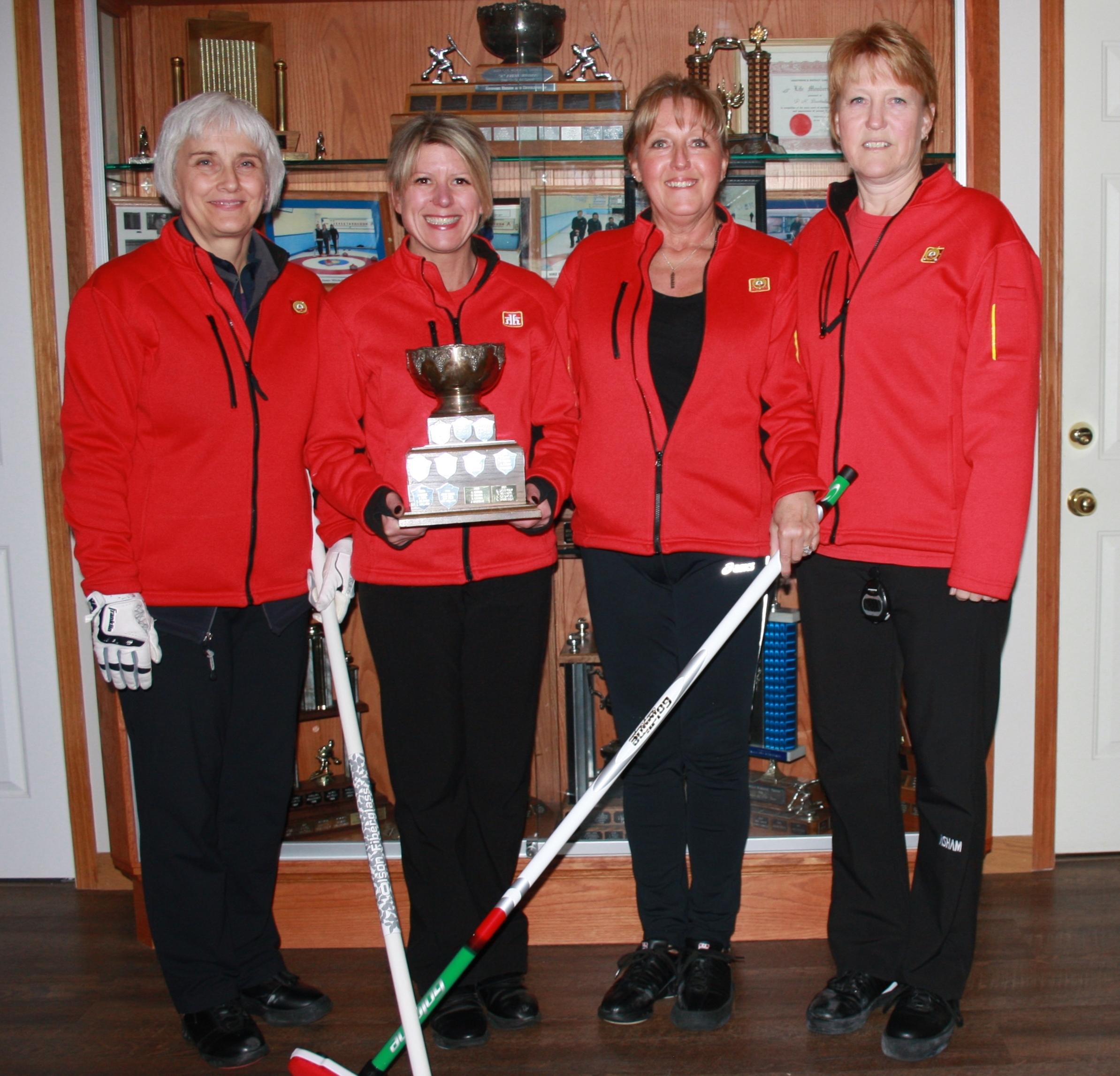 Armstrong Curling Club Ladies Team