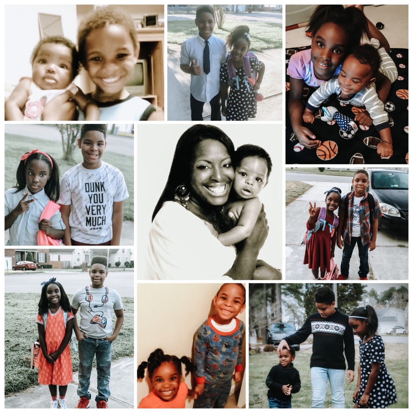collage of me and kids 1