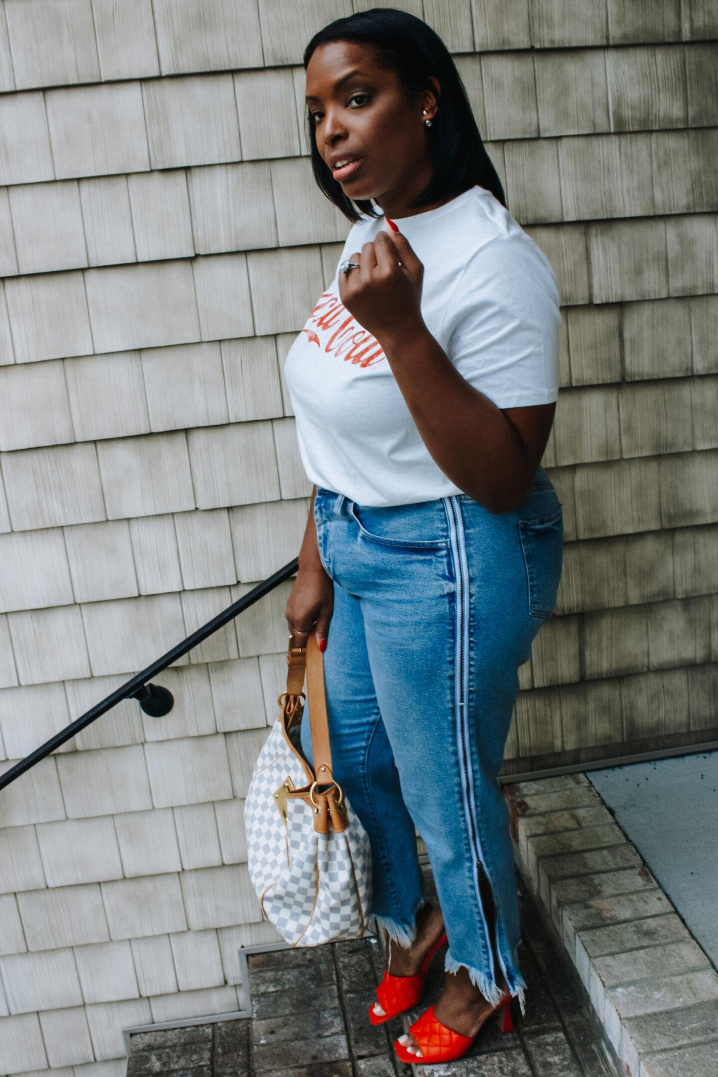 coca cola shirt look 2