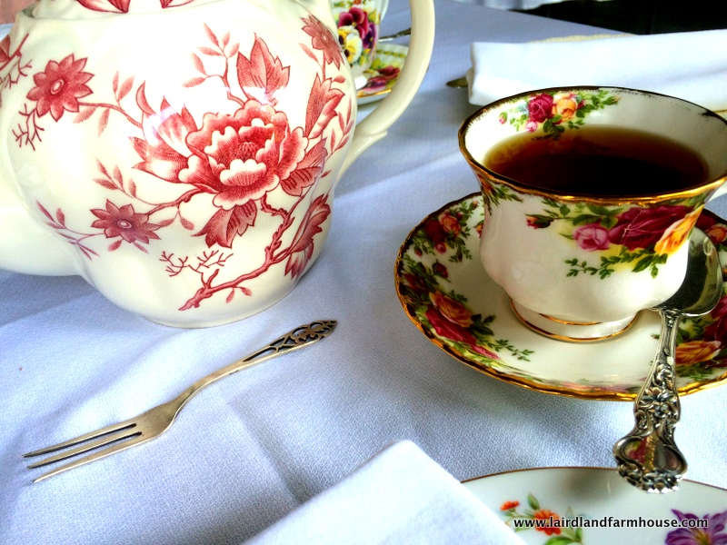 Edwardian upper class homes would have the table necessities for High Tea