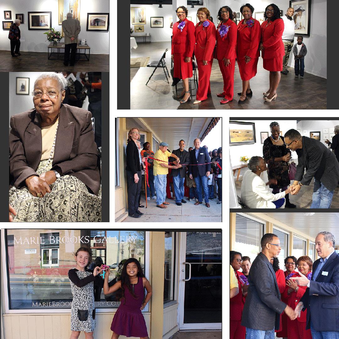 Artis Dean L. Mitchell opens Marie Brooks Gallery