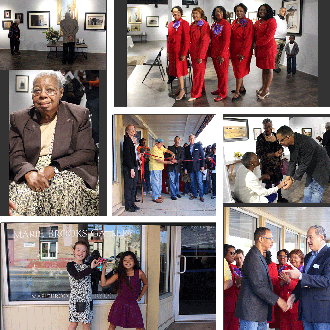 Artis Dean L. Mitchell opens Marie Brooks Gallery