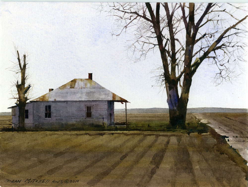 Dean Mitchell, Mississippi Farm House