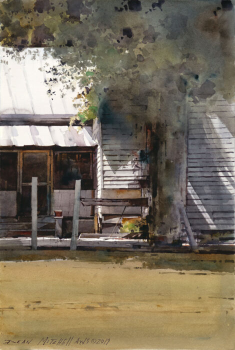 "Morning Sun watercolor 15"" x 10"""