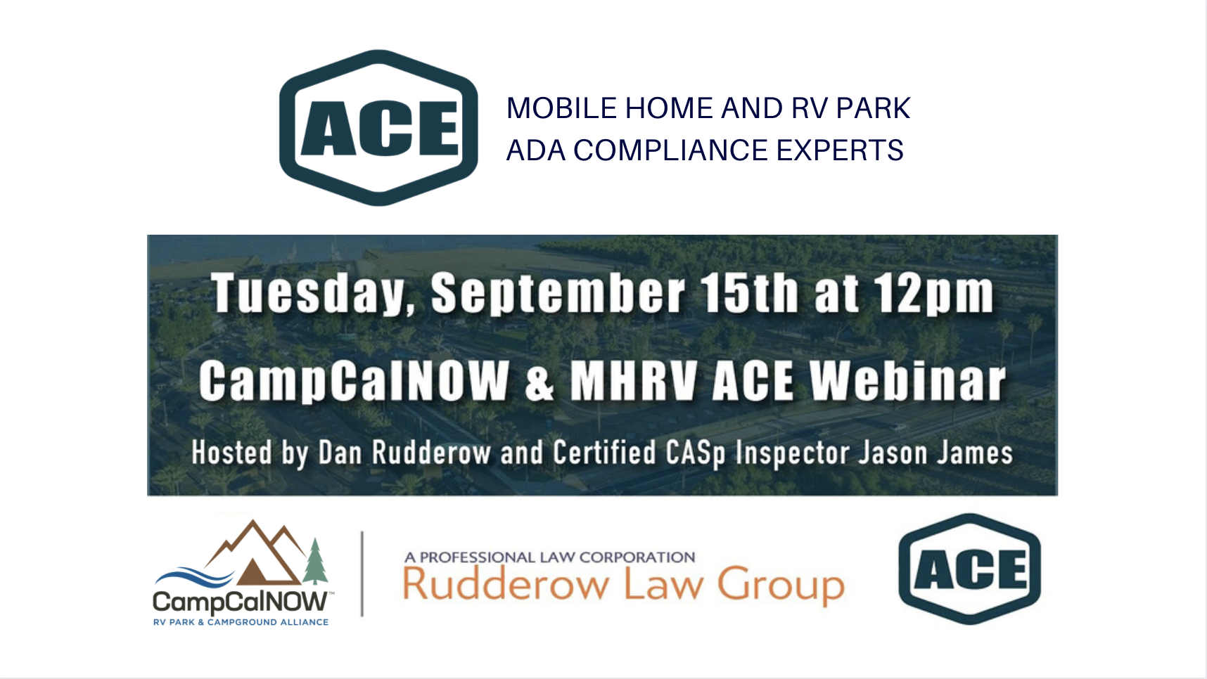 CampCalNOW & MHRV ACE Webinar – CASp Inspections