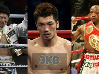 Ken Shiro, Ryota Murata and Moruti Mthalane