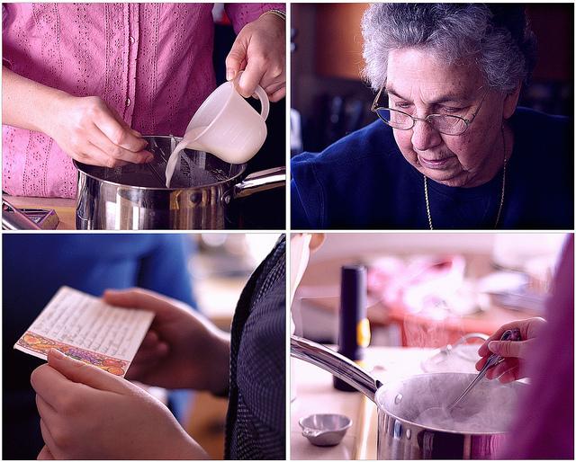 Grandma's Cooking School: Chocolate Crepes