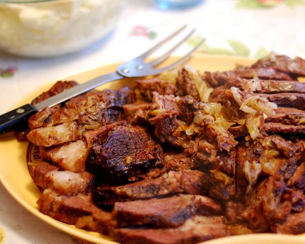 Grandma's Cooking School: Roast Beef Dinner