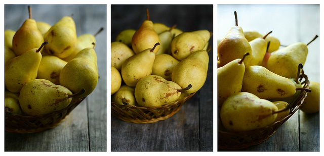 Pears, 3 Different Ways