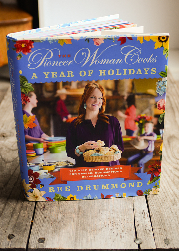 """GIVEAWAY: Pioneer Woman's New Cookbook: """"A Year of Holidays"""""""