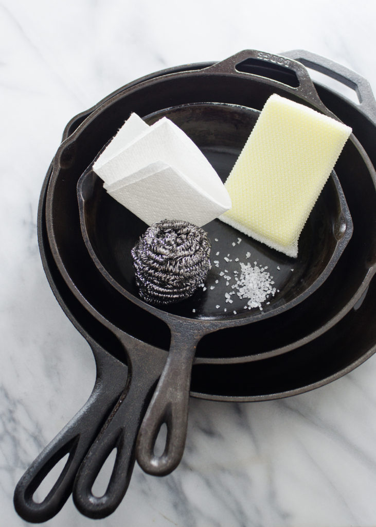 3 Ways to Clean a Cast Iron Skillet
