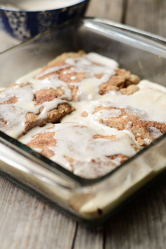 Gooey Cinnamon Biscuits