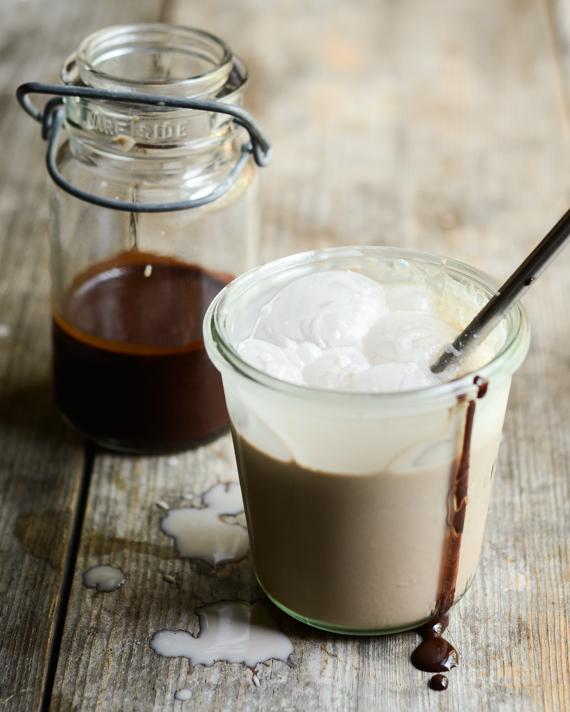 Homemade Chocolate Syrup for Chocolate Milk!