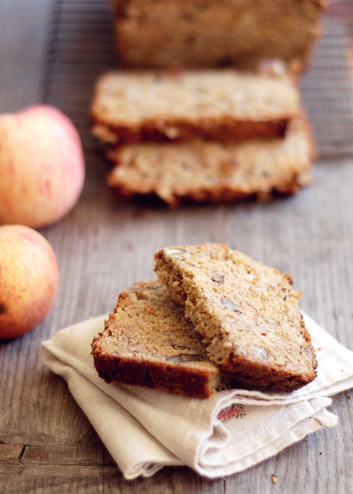 Maple Apple Pecan Bread