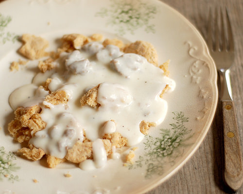 Biscuits + Gravy | Buttered Side Up