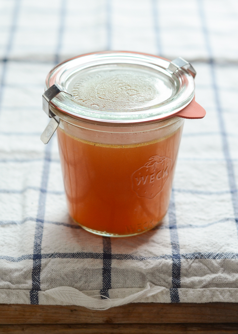 How to Make Chicken Broth in the Crock Pot - Buttered Side Up