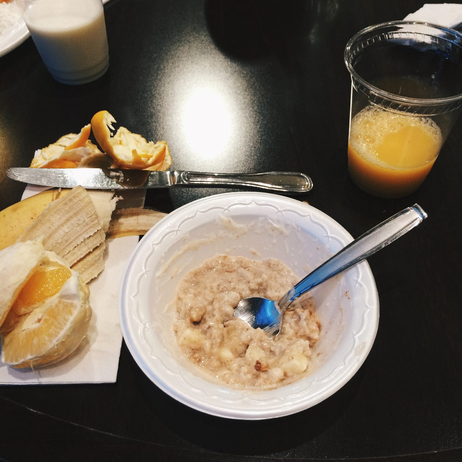 What I Ate Wednesday: Breakfast at the Hotel