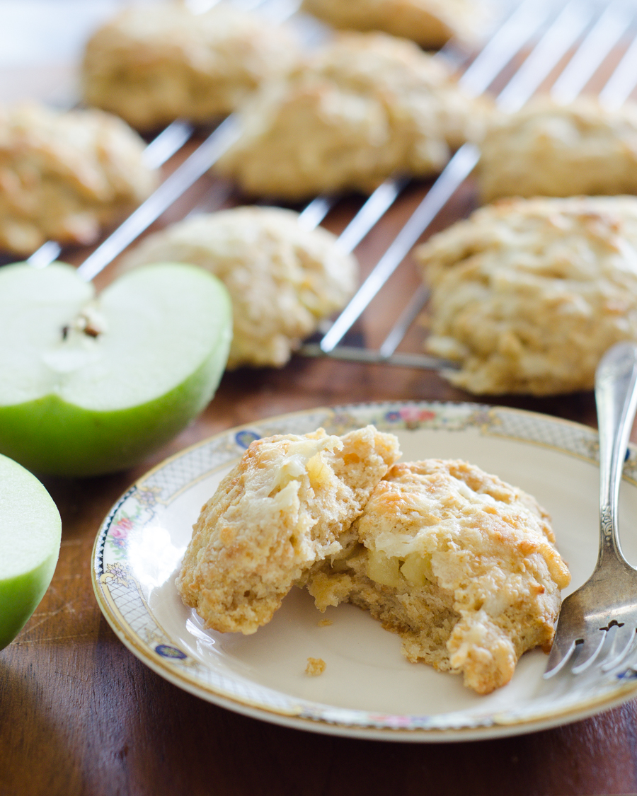Apple Cheddar Scones 22