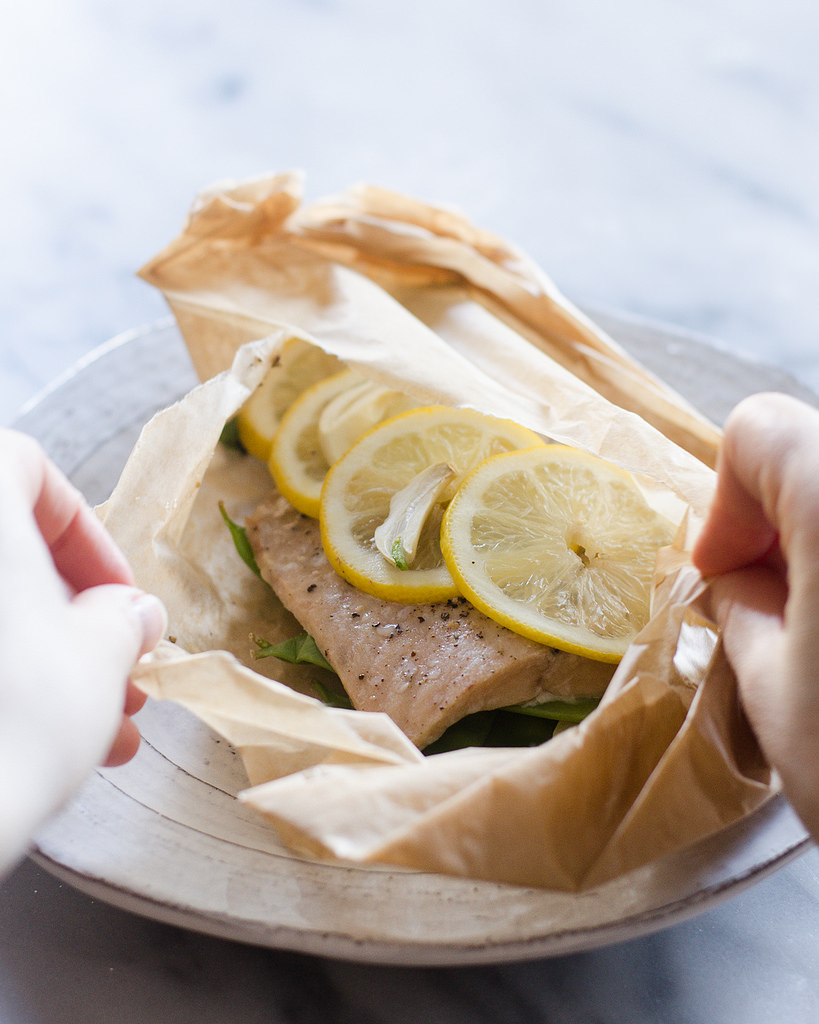 Salmon en Papillote | Buttered Side Up