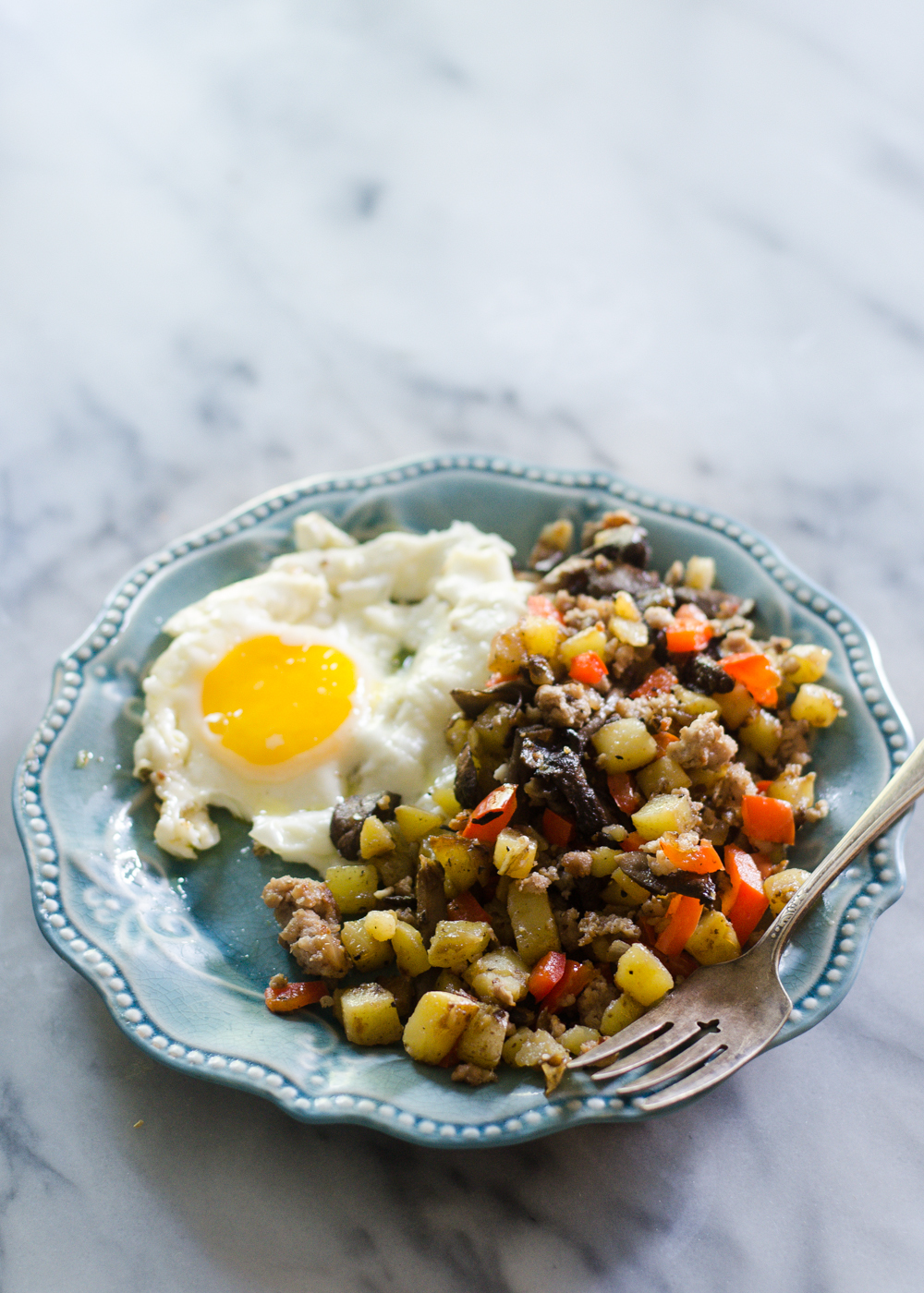 Sausage Breakfast Hash | Buttered Side Up