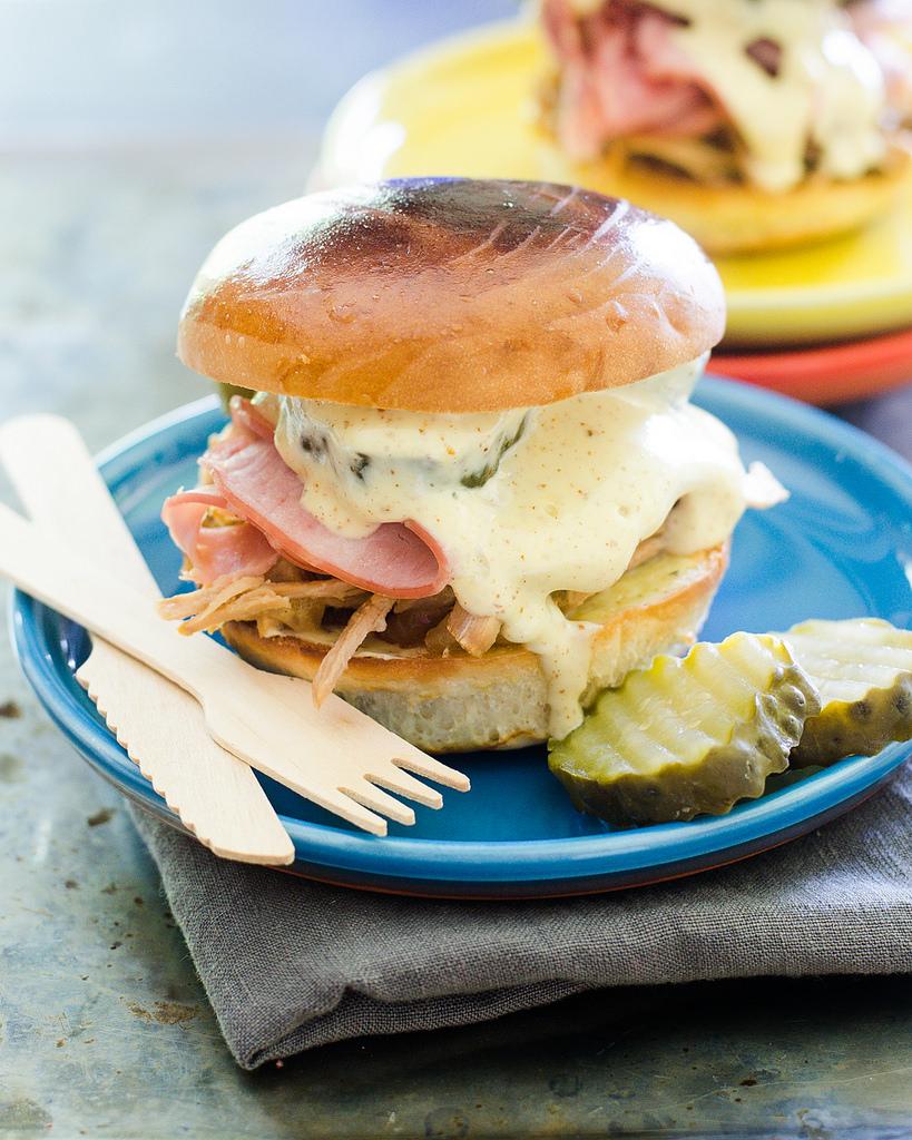 Cuban Inspired Sandwich
