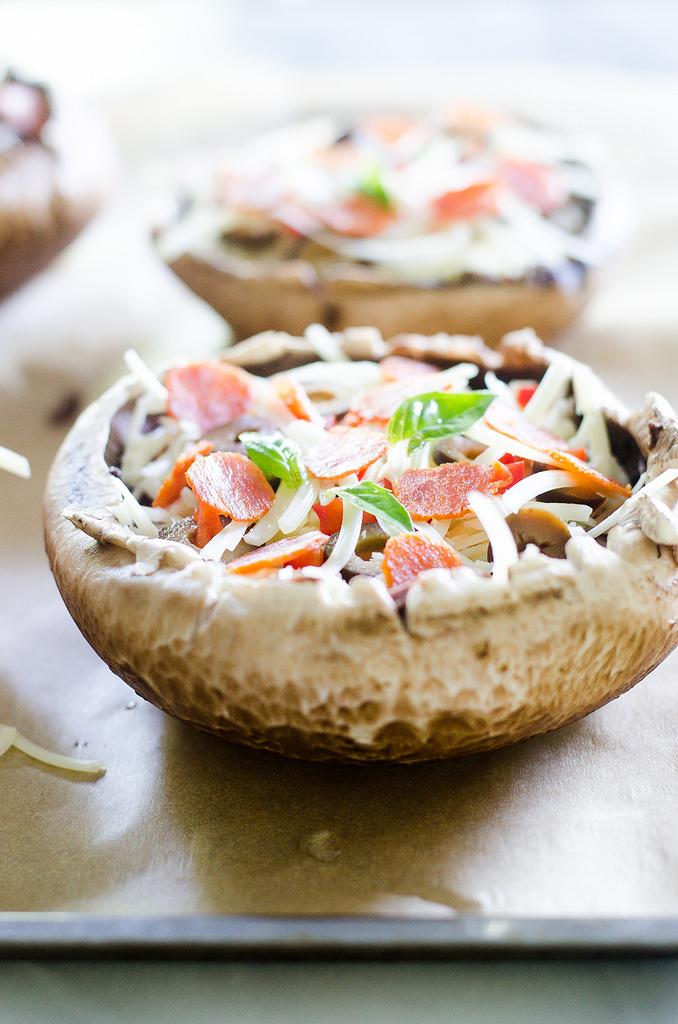 Pizza Mushroom - Buttered Side Up