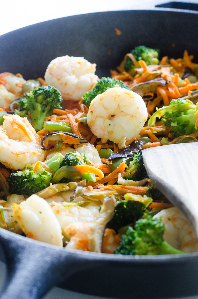 30 Minute Shrimp Stir-Fry