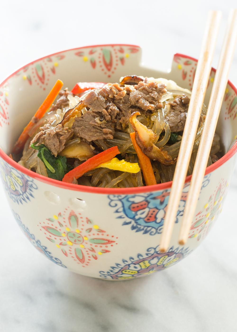 Butcher Box Review Meal 1 - Japchae