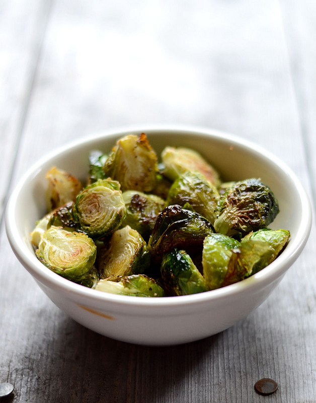 How to Host a Real Food Thanksgiving | Oven Roasted Brussels Sprouts